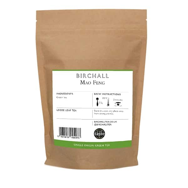 Birchall Mao Feng Green Tea Loose Leaf Tea