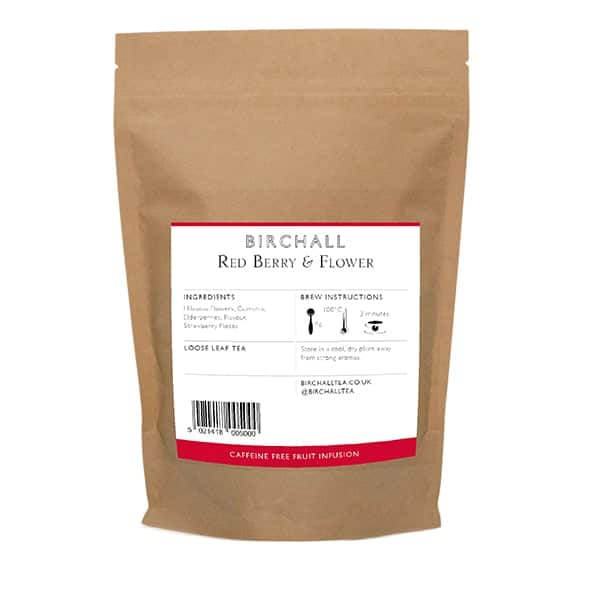 Birchall Red Berry & Flower Loose Leaf Tea