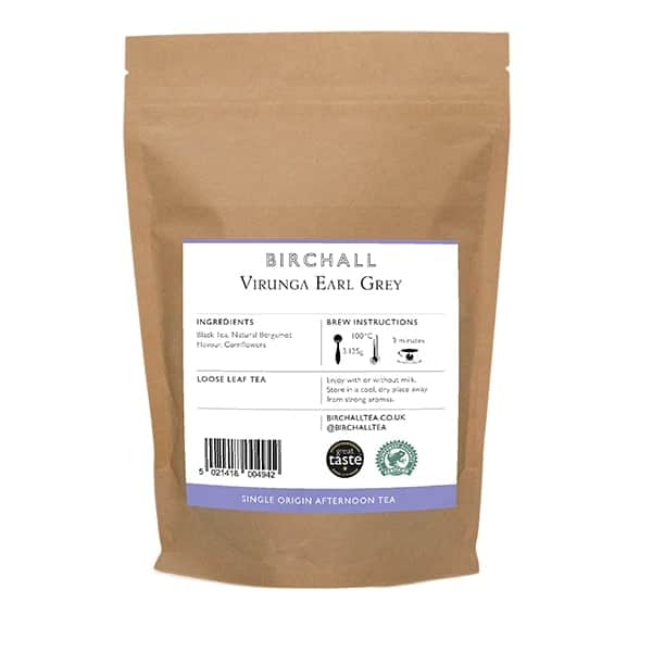 Birchall Virunga Earl Grey Loose Leaf Tea