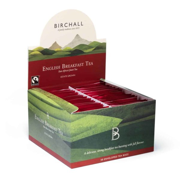 Birchall English Breakfast Tea - 50 Enveloped Tea Bags