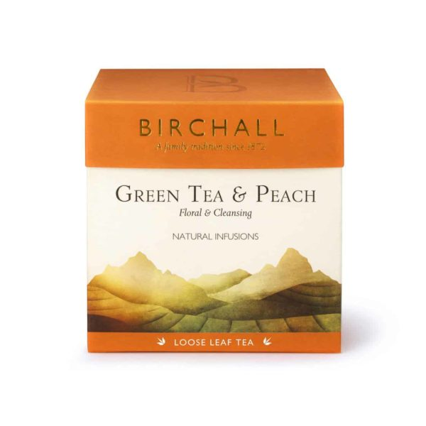 Birchall Green Tea & Peach - Loose Leaf Tea