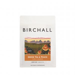 Green Tea & Peach 125g Loose Leaf Tea