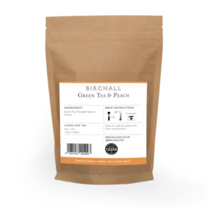Green Tea & Peach 125g Loose Leaf Tea