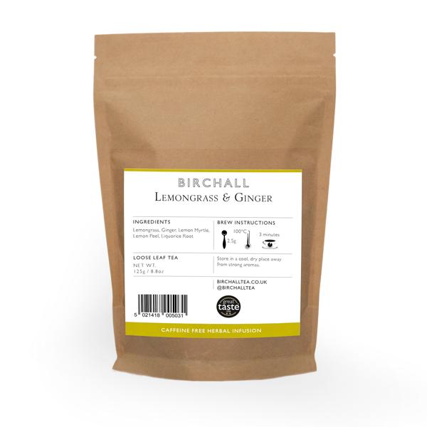 Lemongrass & Ginger 125g Loose Leaf Tea
