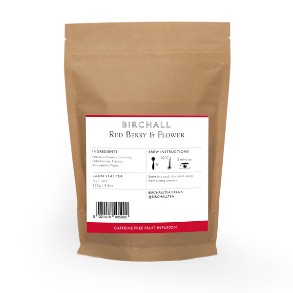 Red Berry & Flower 125g Loose Leaf Tea
