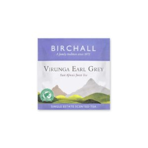 Virunga Earl Grey Enveloped Prism Tea Bag