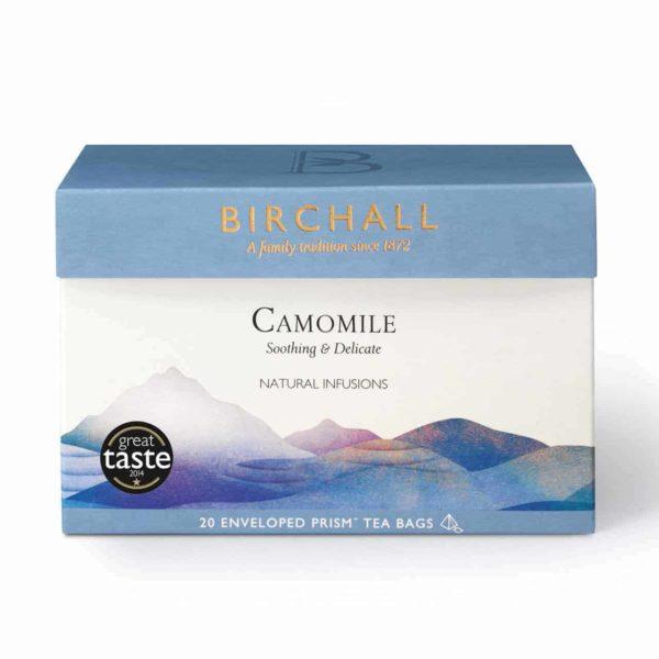 Birchall Camomile - 20 Enveloped Prism Tea Bags