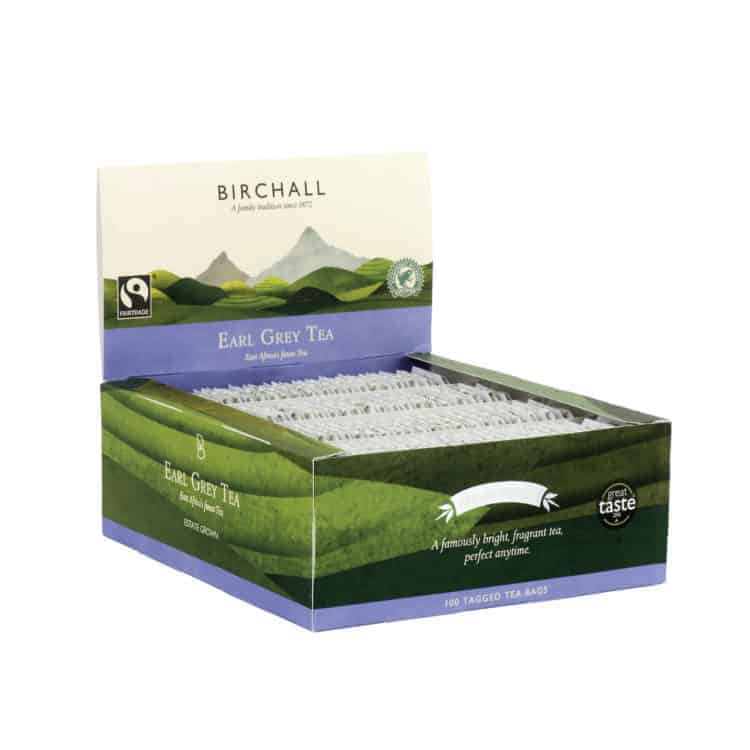 Birchall Earl Grey Tea - 100 Tagged Tea Bags