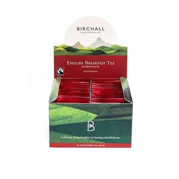 Birchall English Breakfast Tea - 50 Enveloped Tea Bags