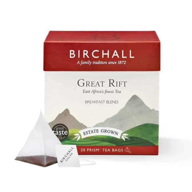 Birchall Great Rift Breakfast Blend - 20 Prism Tea Bags