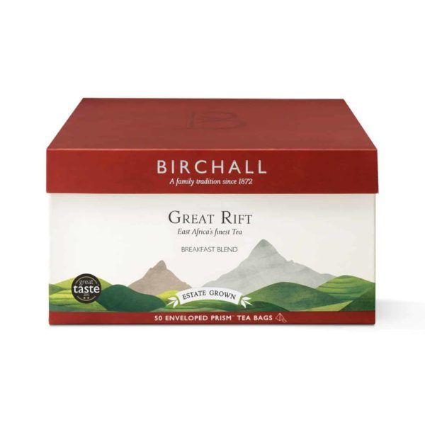 Birchall Great Rift Breakfast Blend - 50 Enveloped Prism Tea Bags