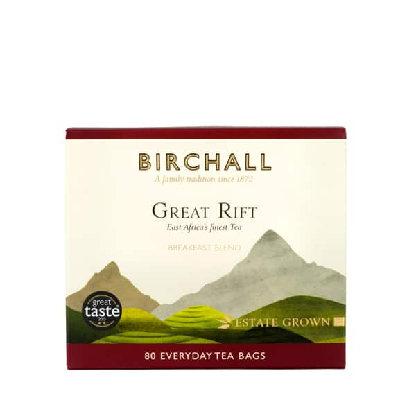 Birchall Great Rift Breakfast Blend - 80 Everyday Tea Bags