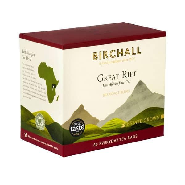 Birchall Great Rift Breakfast Blend - 80 Everyday Tea Bags