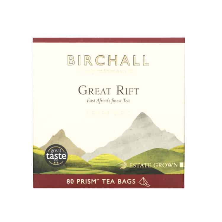 Birchall Great Rift Breakfast Blend - 80 Prism Tea Bags