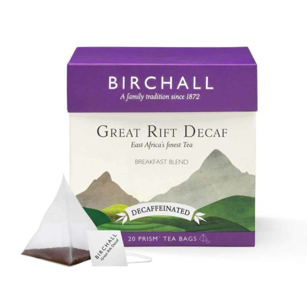 Birchall Great Rift Decaf - 20 Prism Tea Bags