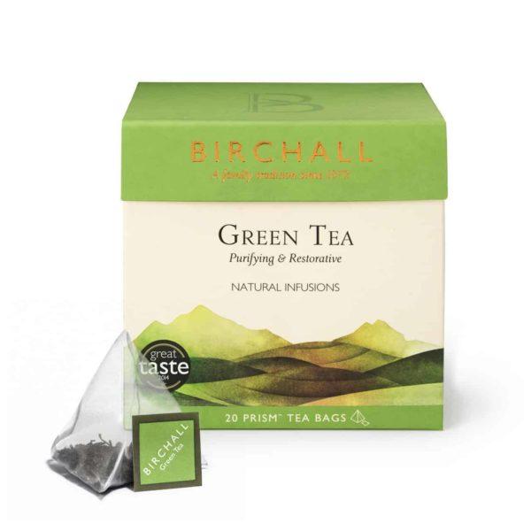 Birchall Green Tea - 20 Prism Tea Bags