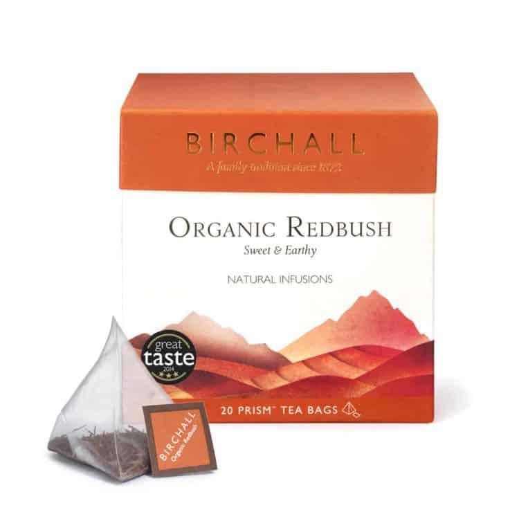 Birchall Organic Redbush - 20 Prism Tea Bags