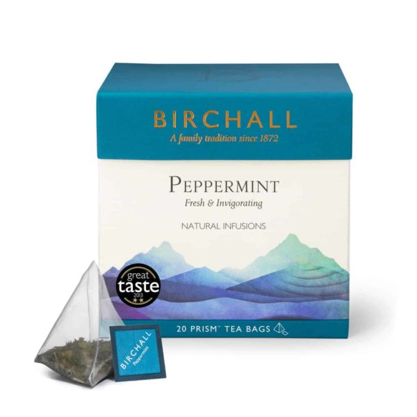 Birchall Peppermint - 20 Prism Tea Bags