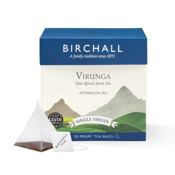 Birchall Virunga Afternoon Tea - 20 Prism Tea Bags