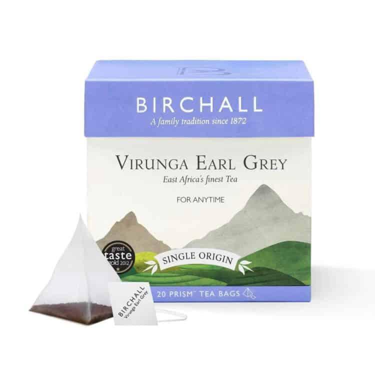 Birchall Virunga Earl Grey - 20 Prism Tea Bags