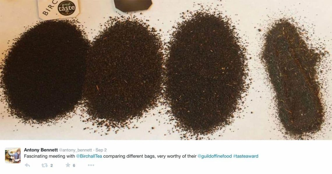 Birchall is 100% pure main grade black leaf tea which means no powder, dust or stalk is added.