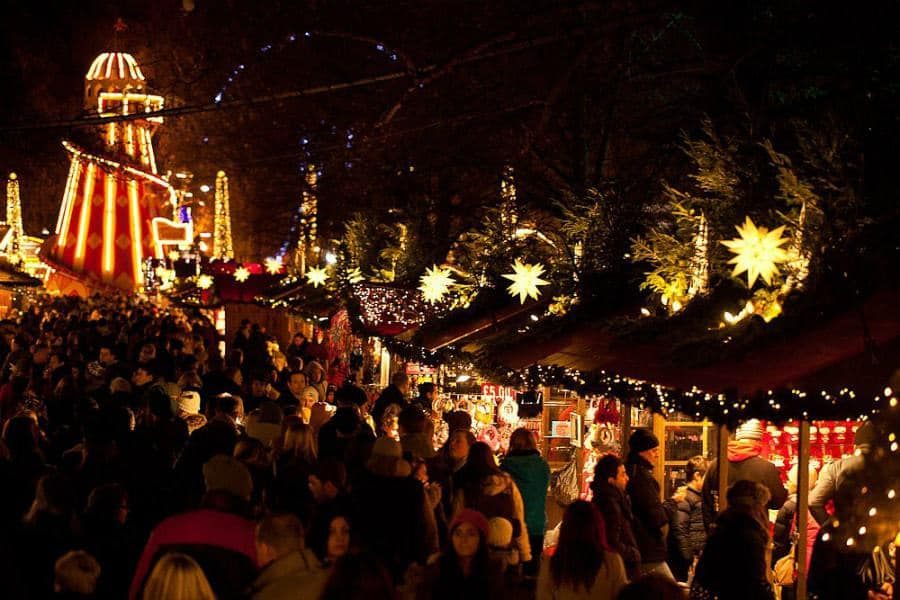 Birchall Tea's London Christmas Market Guide