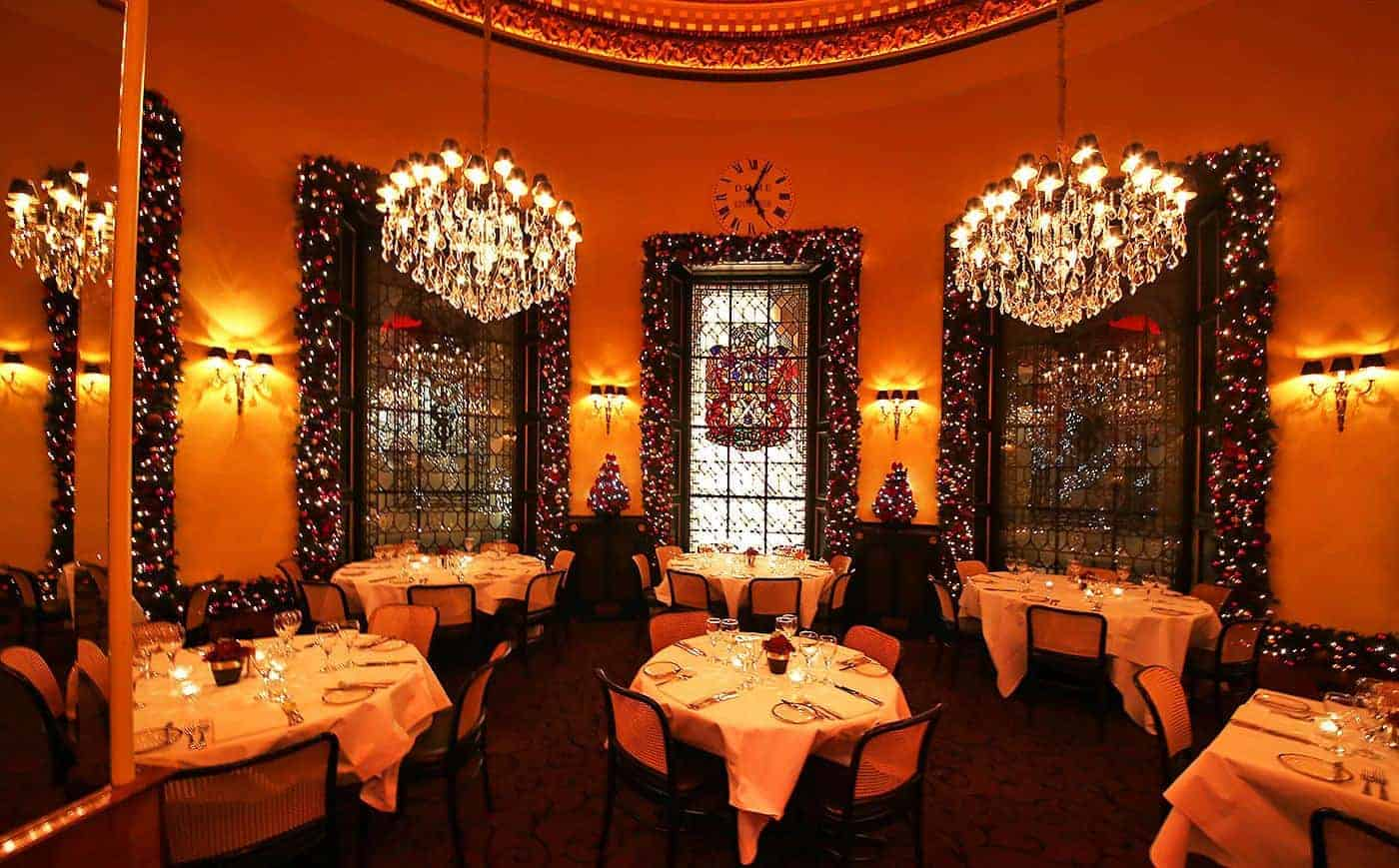 Birchall Tea's Christmas Dinner Venues