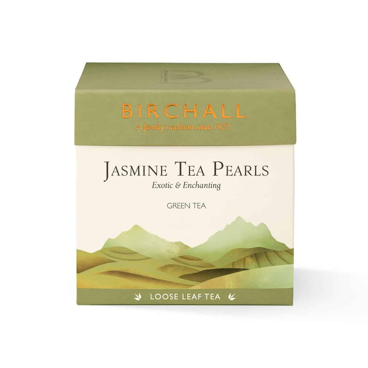Birchall Jasmine Tea Pearls - Loose Leaf Tea