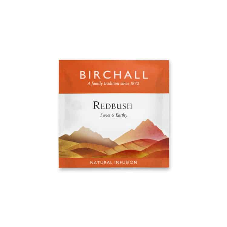 Birchall Redbush Enveloped Prism Tea Bag