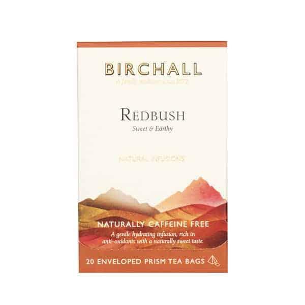 Birchall Redbush - 20 Enveloped Prism Tea Bags
