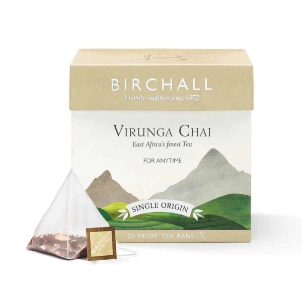Birchall Virunga Chai - 20 Prism Tea Bags