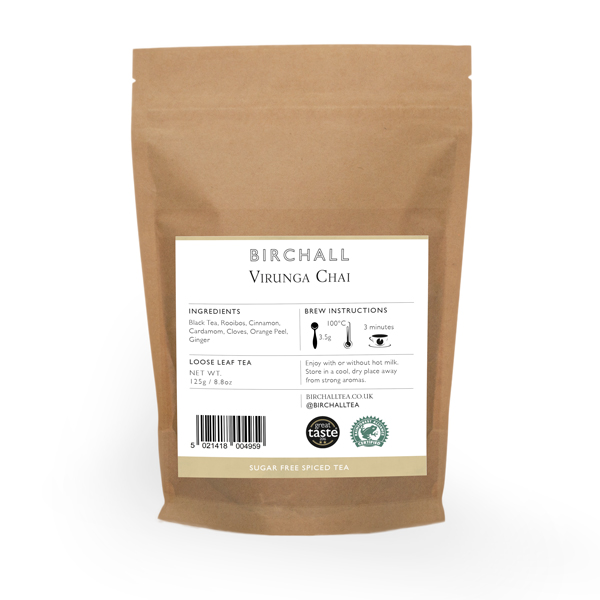Virunga Chai 125g Loose Leaf Tea