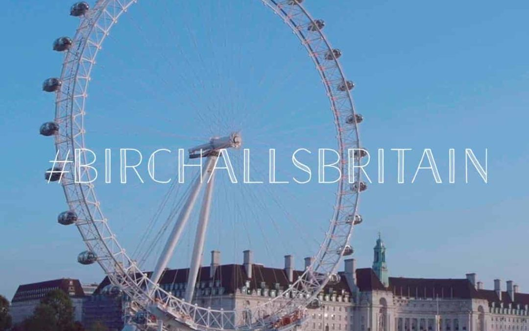 Birchall Tea Celebrates London