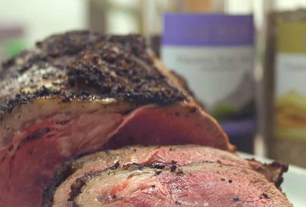 Christmas Inspired Salt Crusted Roast Beef