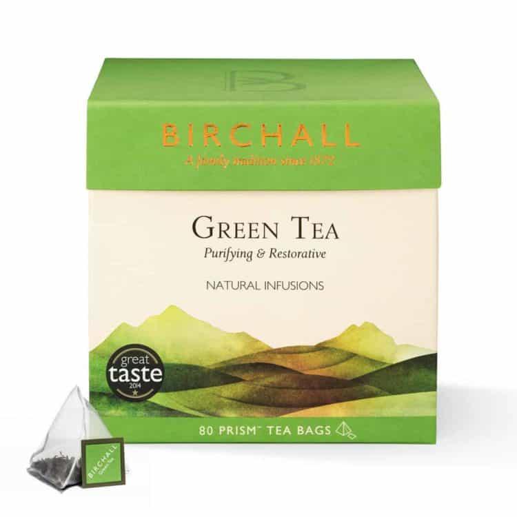 Birchall Green Tea - 80 Prism Tea Bags