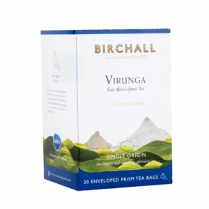 Birchall Virunga Afternoon Tea - 20 Enveloped Prism Tea Bags