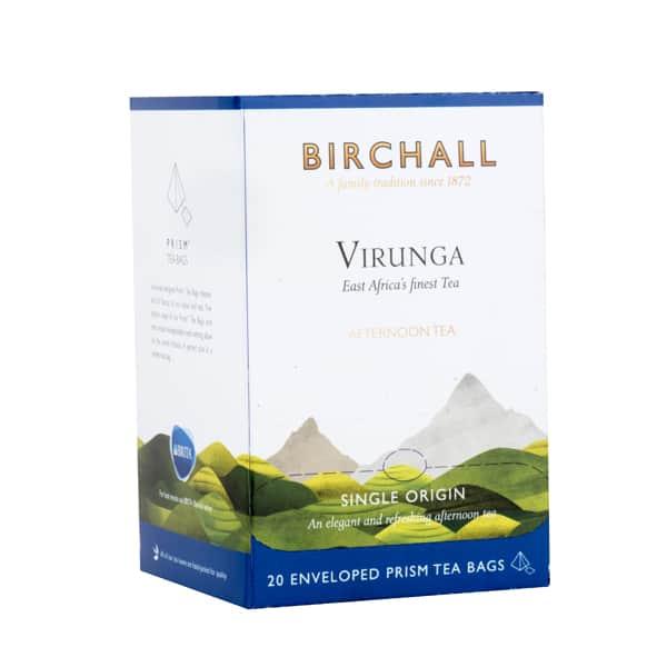 Birchall Virunga Afternoon Tea - 20 Enveloped Prism Tea Bags
