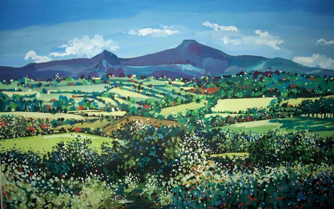 Painting The Brecon Beacons