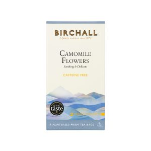 Birchall Camomile Flowers - 15 Plant-Based Prism Tea Bags