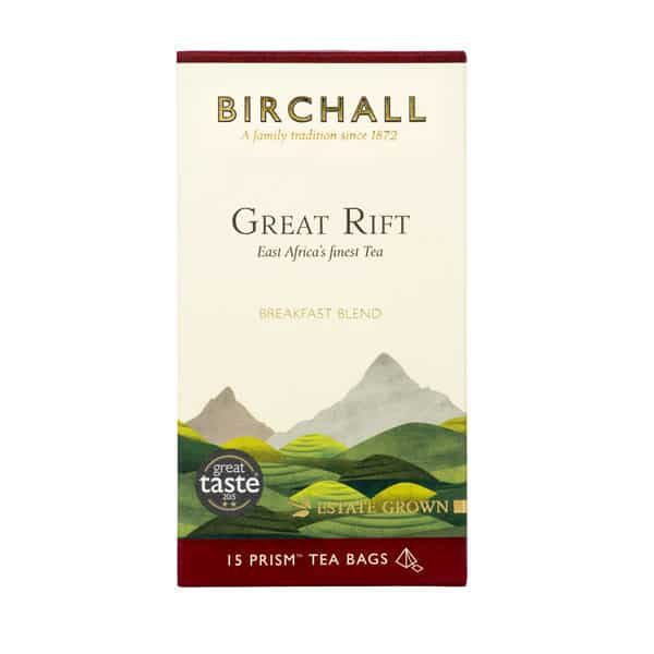 Birchall Great Rift Breakfast Blend - 15 Prism Tea Bags