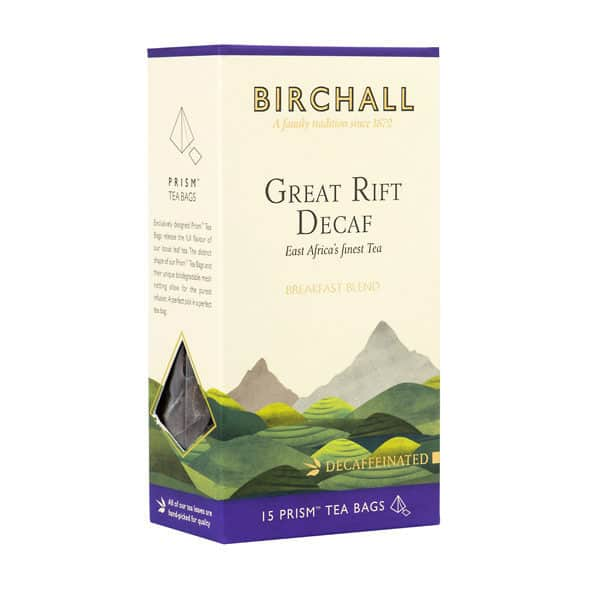 Birchall Great Rift Decaf - 15 Prism Tea Bags