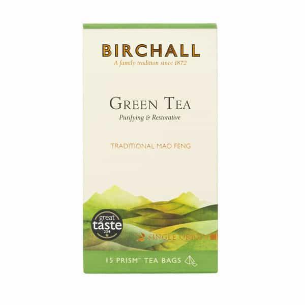 Birchall Green Tea - 15 Prism Tea Bags