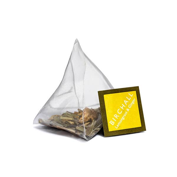Birchall Lemongrass & Ginger Prism Tea Bag