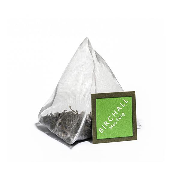 Mao Feng Green Tea Plant-Based Prism Tea Bag