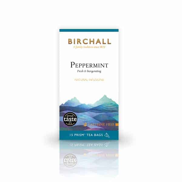 Birchall Peppermint - 15 Prism Tea Bags - 15 Prism Tea Bags