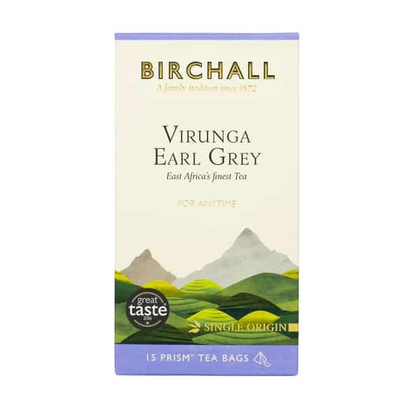 Birchall Virunga Earl Grey - 15 Prism Tea Bags