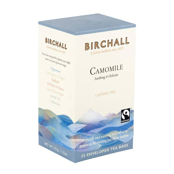 Birchall Camomile - 25 Enveloped Tea Bags