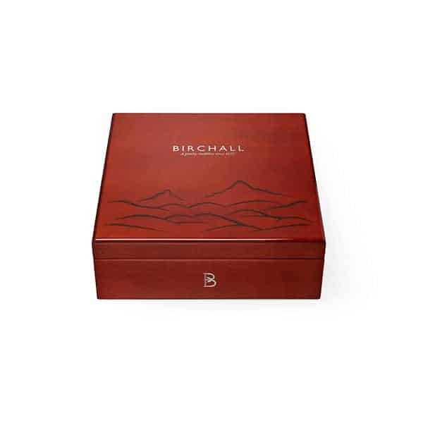 Birchall Deluxe Wooden Compartment Box