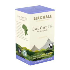 Birchall Earl Grey Tea - 25 Enveloped Tea Bags