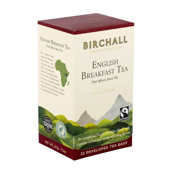 Birchall English Breakfast Tea - 25 Enveloped Tea Bags